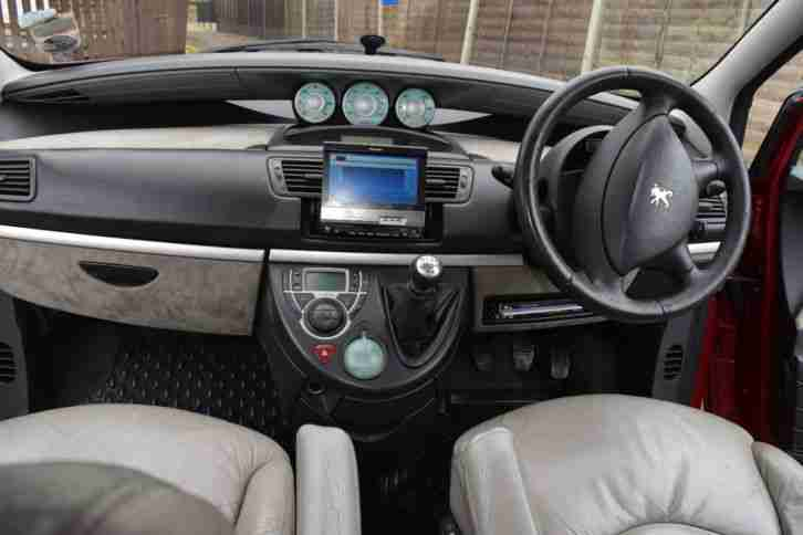 Peugeot 807 2 2hdi executive car for sale for Interior peugeot 807