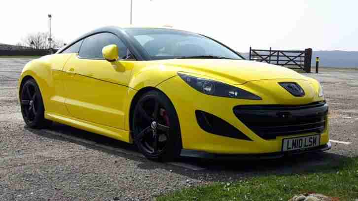 Peugeot RCZ GT. Peugeot car from United Kingdom