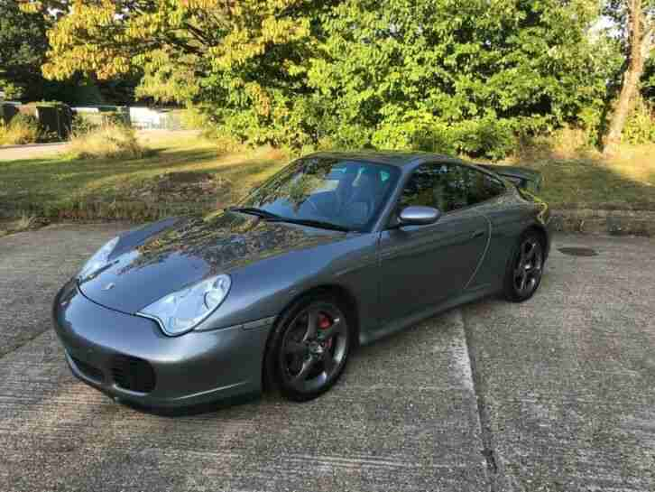 911 3.6 996 Carrera 4S AWD Seal Grey