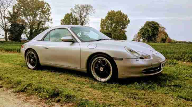 Porsche 911 Carrera Cabrio Convertible Tiptronic 6 speed 2000 Factory Hard