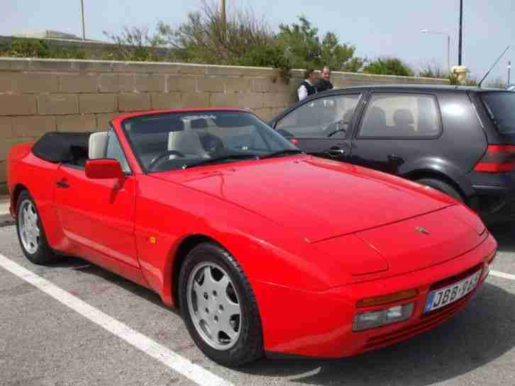 944 S2 convertable cabrio manual Low