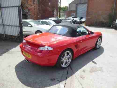 porsche boxster 2 5 red hard top car for sale. Black Bedroom Furniture Sets. Home Design Ideas