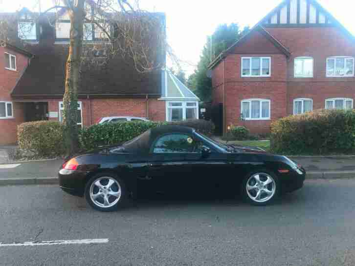 Boxster 2.7 2 seater convertible low