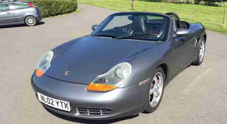 Porsche Boxster 3.2s. Porsche car from United Kingdom