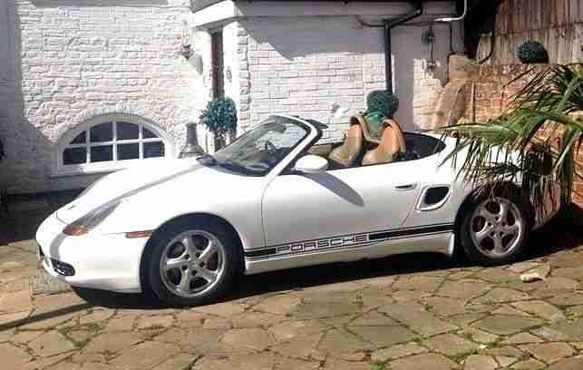 Porsche Boxster 986 Car From United Kingdom