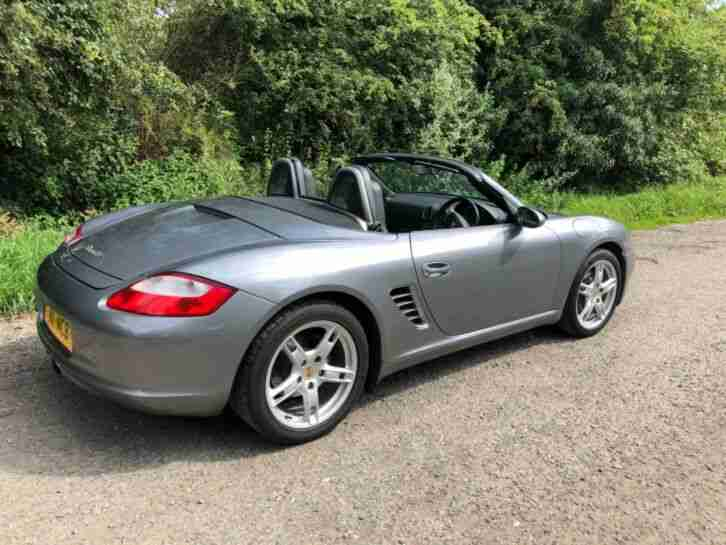 Porsche Boxster 987. Porsche car from United Kingdom