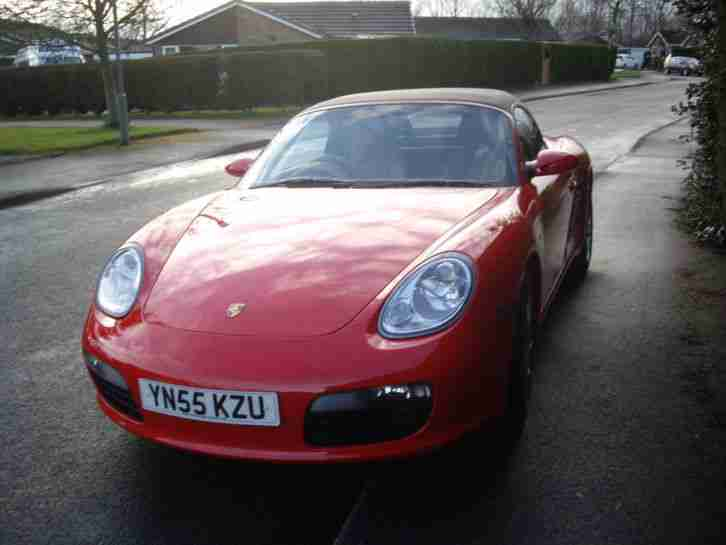 Boxster Red Convertable