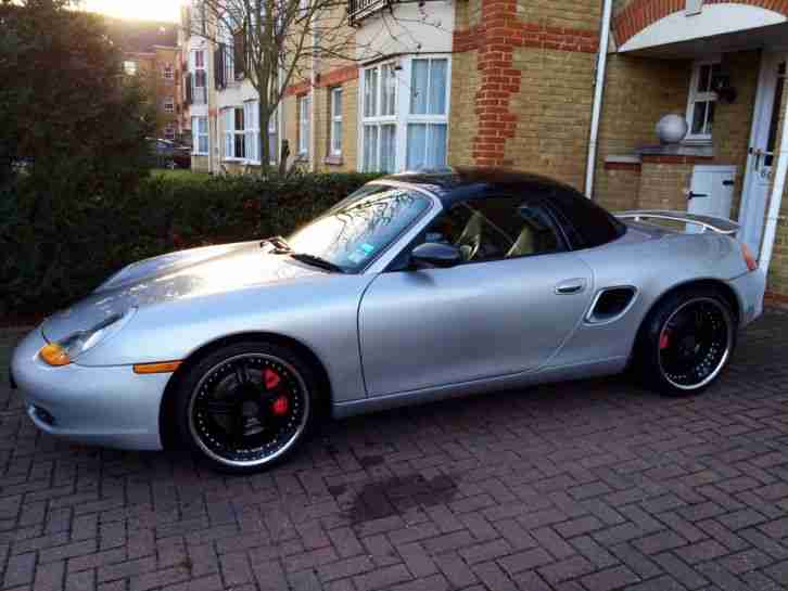 porsche boxster s 3 2 silver 2001 car for sale. Black Bedroom Furniture Sets. Home Design Ideas
