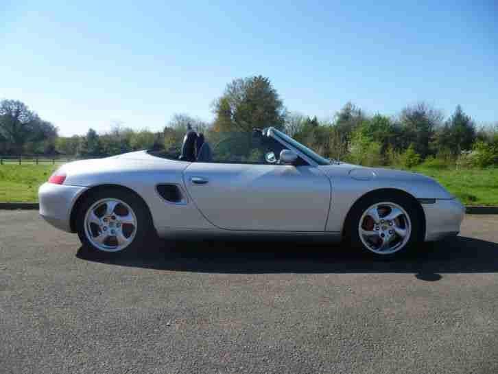 Boxster S 986 2001 59k miles 12 month