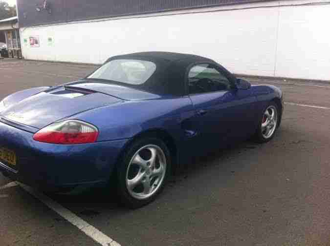 Porsche Boxster stunning example px welcome