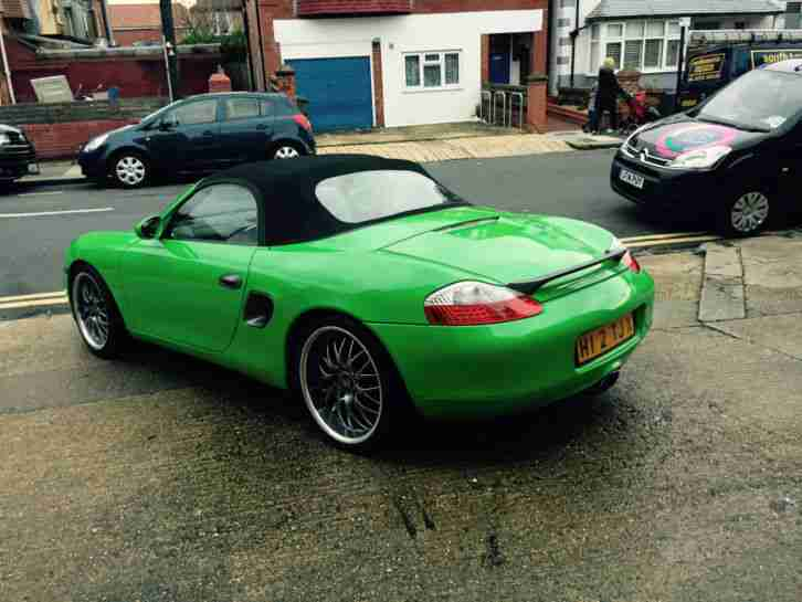 "Porsche Boxter 2.7 convertible -tip tronic- automatic "" The Hulk"""