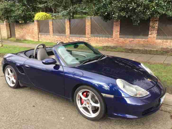 Porsche Boxter 3.2S 986 Convertible Cabriolet 6 Speed Manual