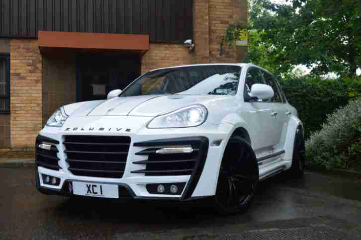 porsche cayenne 4 5 tiptronic s auto wide arched bodykit px custom. Black Bedroom Furniture Sets. Home Design Ideas