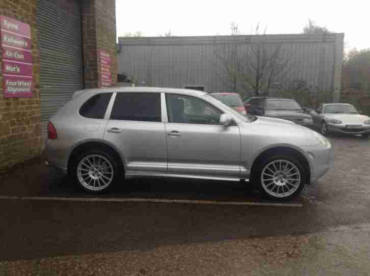 "Porsche Cayenne 4.5S Tiptronic with Genuine turbo body kit and 21"" alloy wheels."