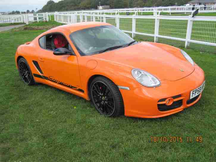 Cayman S 3.4 Sport limited edition,