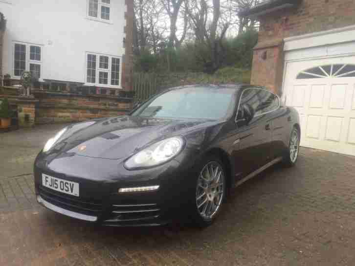 Porsche Panamera (2015). Porsche car from United Kingdom