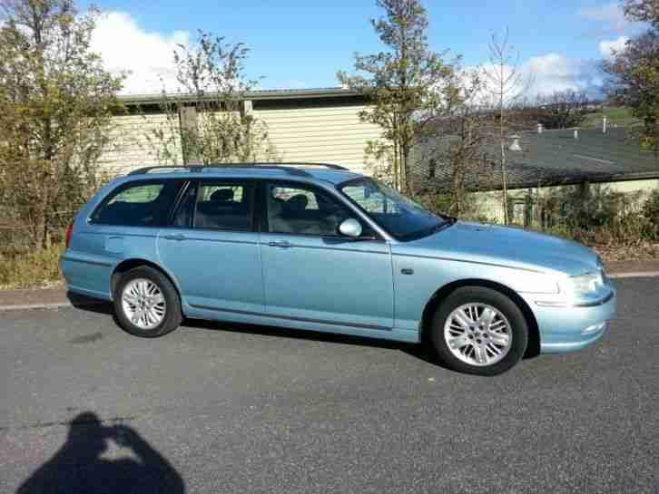 quick sale 2003 52 rover 75 club se cdt 2 0 diesel tourer blue car for sale. Black Bedroom Furniture Sets. Home Design Ideas