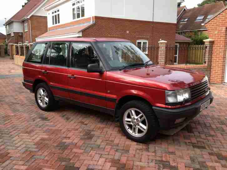 1998 Rioja Red Metallic Land Rover Discovery LE #20729344 ... |Red 1998 Land Rover