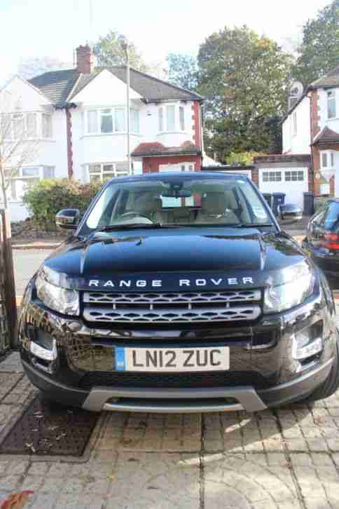 RANGE ROVER EVOQUE SD4 Auto PURE TECH in BLACK (2012) - And Extras