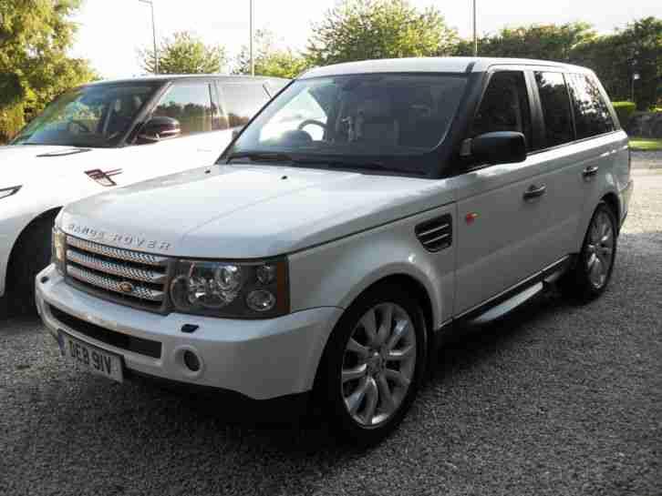 Range Rover Sport 2008 3 6 Tdv8 Hse White 44k Fsh New