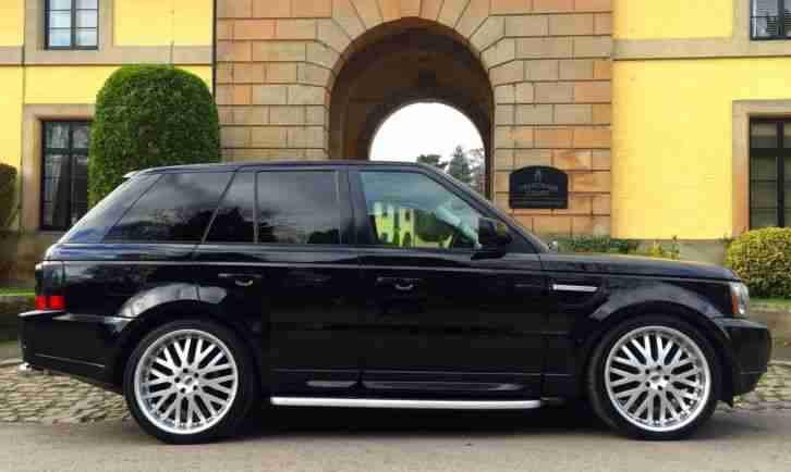 "***RANGE ROVER SPORT HSE FACELIFT, CREAM INTERIOR, 22""WHEELS,TV/DVD HEADREST***"