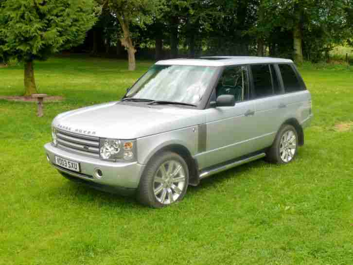 range rover td6 vogue l322 for sale car for sale. Black Bedroom Furniture Sets. Home Design Ideas