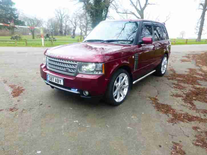 RANGE ROVER TD6. Land & Range Rover car from United Kingdom