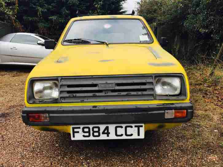 RARE 1988 RELIANT RIALTO SALOON ☆ DEL BOY VAN ☆ ONLY FOOLS AND HORSES REGAL
