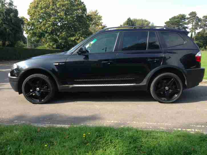 bmw rare 2006 x3 sport se black 2 0 diesel 20 black alloys 6 speed. Black Bedroom Furniture Sets. Home Design Ideas