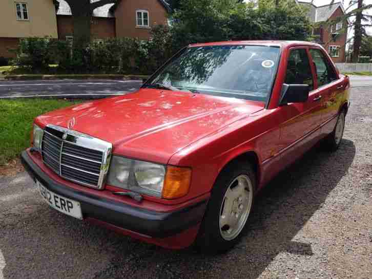 REDUCED 1989 Mercedes Benz 190E