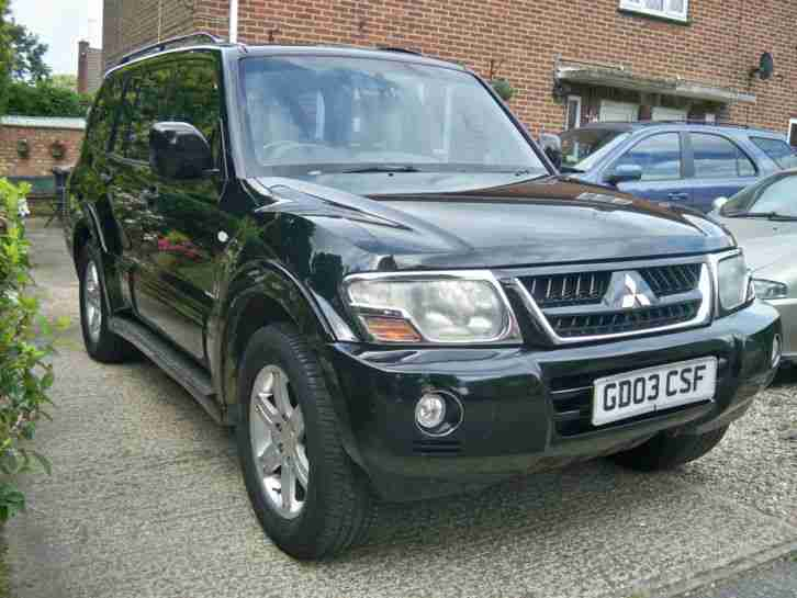 REDUCED! 2003 MITSUBISHI SHOGUN WARRIOR DI D AUTO BLACK