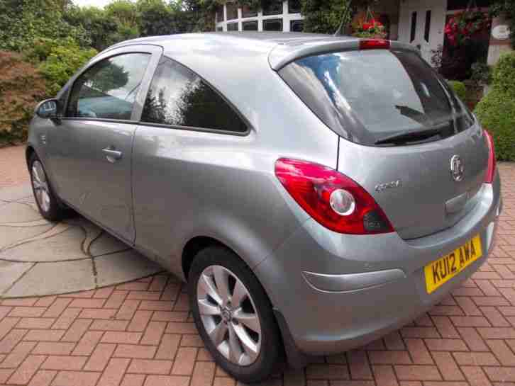 REDUCED IN PRICE Vauxhall Corsa Active AC Silver 2012