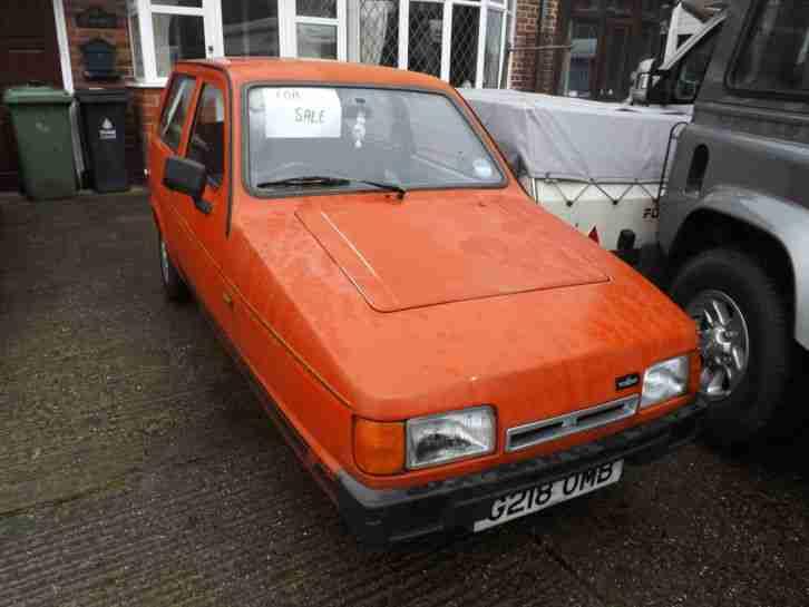 reliant robin petrol 848cc 1990 car for sale rh bay2car com Reliant Robin Top Gear Bond Bug