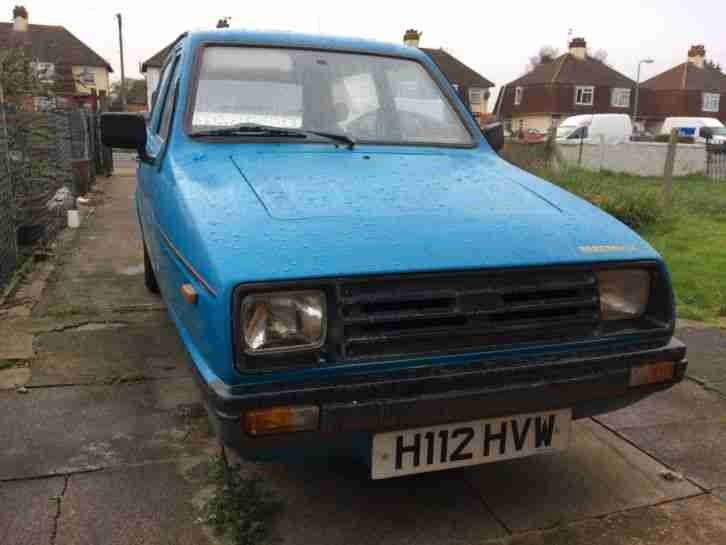 Reliant ROBIN RIALTO. Reliant car from United Kingdom