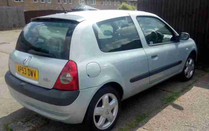 RENAULT CLIO 1.2 DYNAMIQUE STARTS & DRIVES BUT SPARES/ REPAIRS (SEE BELOW)