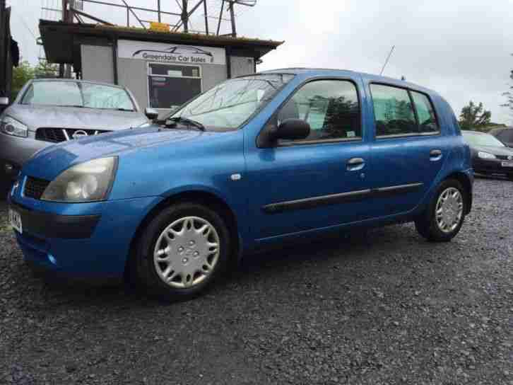 renault clio expression 16v 2003 petrol manual in blue car for sale rh bay2car com renault clio 2 maintenance manual renault clio 2 manual