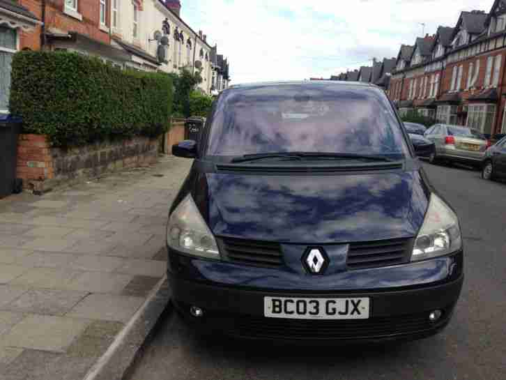 RENAULT GRAND ESPACE 3.0 V6 DIESEL AUTOMATIC 03 (READY TO DRIVE AWAY)