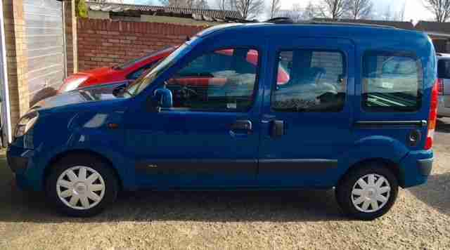 RENAULT KANGOO AUTO SUNROOF LOW MILEAGE 42000