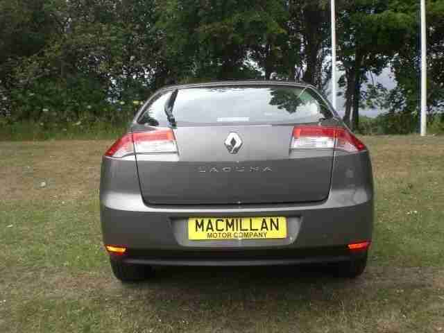 RENAULT LAGUNA DYNAMIQUE DCI 2008 Diesel Manual in Grey