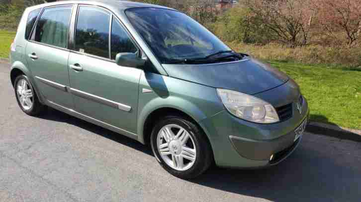 Renault SCENIC 1.6. Renault car from United Kingdom