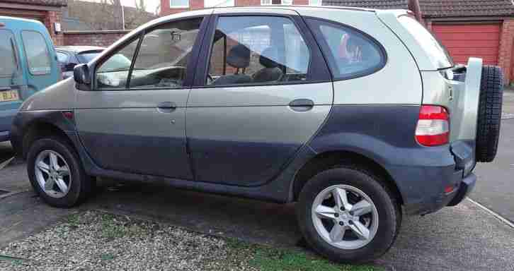 renault scenic rx4 4x4 four wheel drive mot june 2016 car for sale. Black Bedroom Furniture Sets. Home Design Ideas