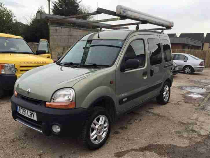 renault kangoo trekka 4x4 with lpg conversion car for sale. Black Bedroom Furniture Sets. Home Design Ideas