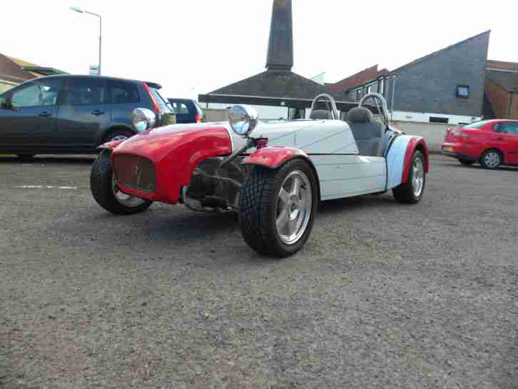 ROBIN HOOD, Kit Car LOTUS SUPER 7 2.0l New. recon engine components 90% complete