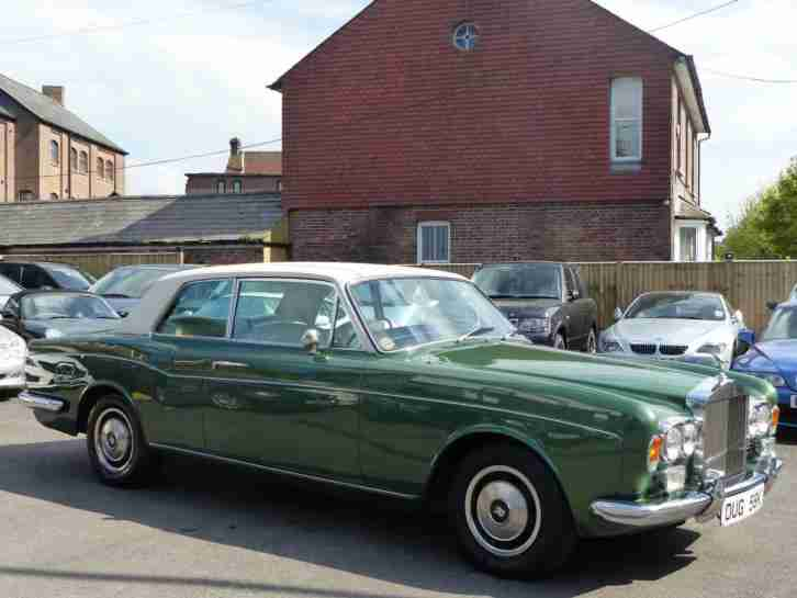 ROLLS ROYCE CORNICHE. Rolls Royce car from United Kingdom