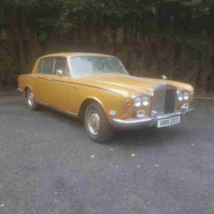 ROLLS ROYCE SILVER SHADOW 1 1973 Auto Petrol Petrol Automatic in Gold