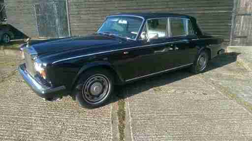ROLLS ROYCE SILVER SHADOW 11 1981 BLUE WITH MAGNOLIA TRIM £6250.00