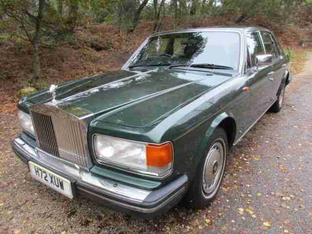 ROLLS ROYCE SILVER SPRIT II LOW MILEAGE ONLY 40K BEAUTIFUL CONDITION