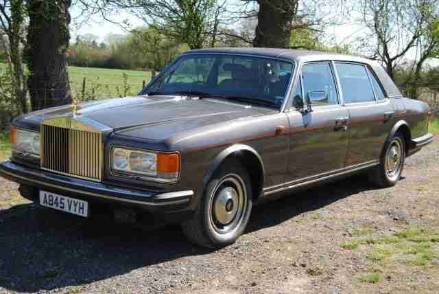 Rolls Royce SILVER. Rolls Royce car from United Kingdom