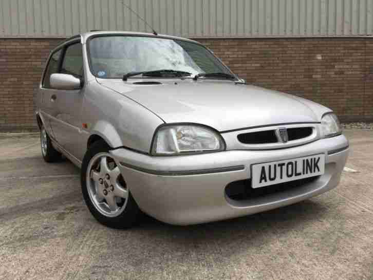 ROVER 114 GTA 1997(P) SILVER LOW MILEAGE ALLOYS FACTORY SUNROOF
