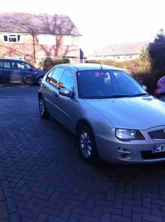 ROVER 25 FACELIFT DIESEL SI TD 101 SILVER/GOLD 54 PLATE